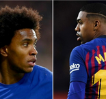 Report: Barcelona Propose Willian-Malcom Swap