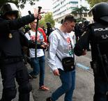 Fans clash with police before Real Madrid match