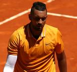 Kyrgios throws table in Rome meltdown
