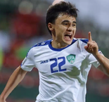 Uzbekistan cruises into Asian Cup last 16