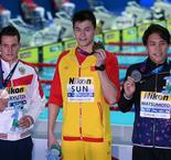 Sun snubbed again after retaining 200m freestyle world title