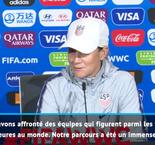 FOOTBALL : CdM (F) : Finale - Ellis : ''L'adversité est de plus en plus forte''