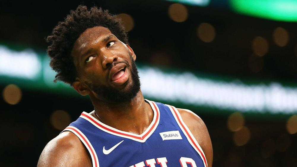 Embiid's double-double powers 76ers past Knicks