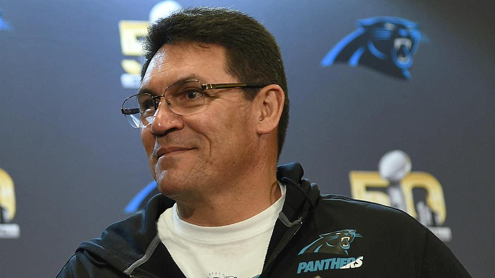 Panthers sign Ron Rivera to contract extension through 2020