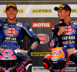 Pata Yamaha Official WorldSBK Team Re-signs Alex Lowes and Michael van der Mark