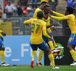Sundowns snare first-leg advantage