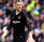 Ter Stegen a doubt for Copa del Rey final with knee injury