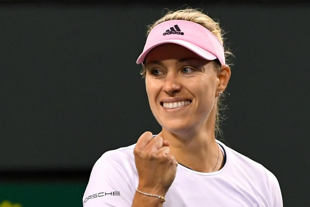 Indian Wells: Kerber rejoint Andreescu en finale