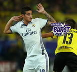 Sports Burst: Is James Rodriguez Real Madrid's Waterboy?