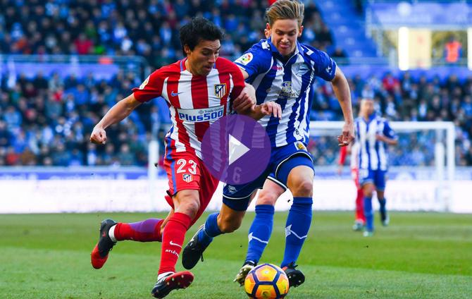 Alaves 0 Atletico Madrid 0 Simeone U0026 39 S Men Lucky To Avoid