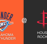 NBA: Rockets fire late to down Thunder