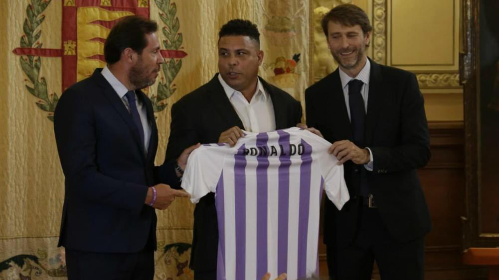 Real Madrid hero Ronaldo takes majority stake in Real Valladolid