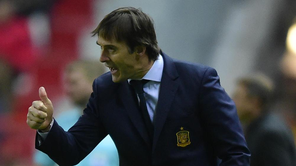 Julen Lopetegui Spain Israel WC Qualifier