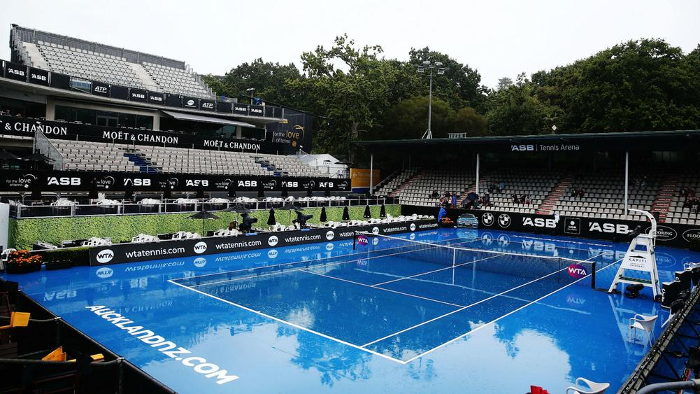 Auckland weather bomb threatens second straight washout day at ASB Classic