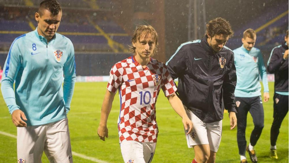 Croatia beat Kosovo after abandoned World Cup qualifier resumes