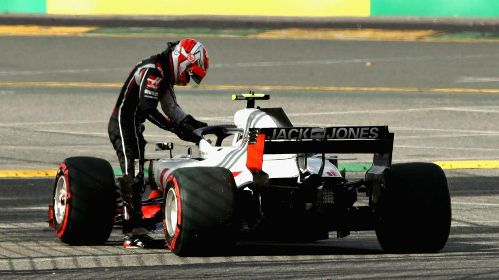 Magnussen, Grosjean Suffer 'Heartbreaking' Double DNF in Australia