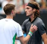 Tsitsipas out in Sydney, Struff comes through marathon day