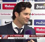 The XTRA: Santiago Solari Interview After Madrid Derby Victory