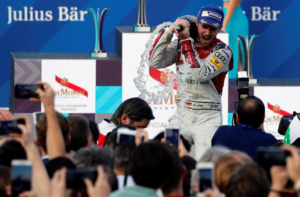 Rosenqvist Inherits Race Two Victory in Hong Kong after Abt Exclusion