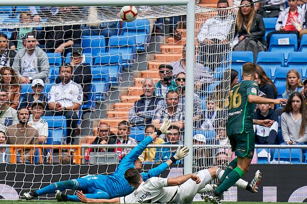 Real Madrid 0-2 Real Betis