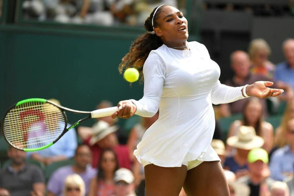 Serena Williams avance bien