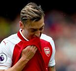 Ozil to miss Arsenal's midweek Huddersfield match, Wenger says