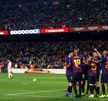La Liga - Barcelona 1 Real Valladolid 0 - Match Report