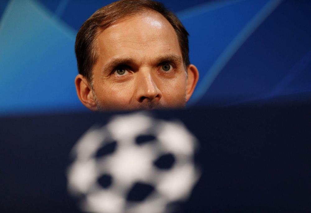 Paris St Germain coach Thomas Tuchel during the press conference Action Images via Reuters/Jason Cairnduff