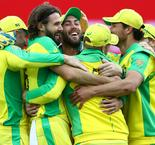 Finch pleased as Australia hold their nerve to edge out Pakistan at World Cup