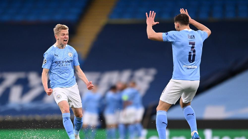 Man City tames blizzard to reach maiden UCL final