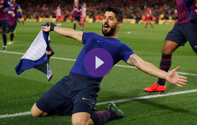 Getafe Real Valladolid Live Score Video Stream And H2h: Barcelona 2-0 Atletico Madrid