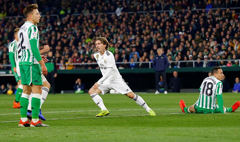 Real Betis 1-2 Real Madrid