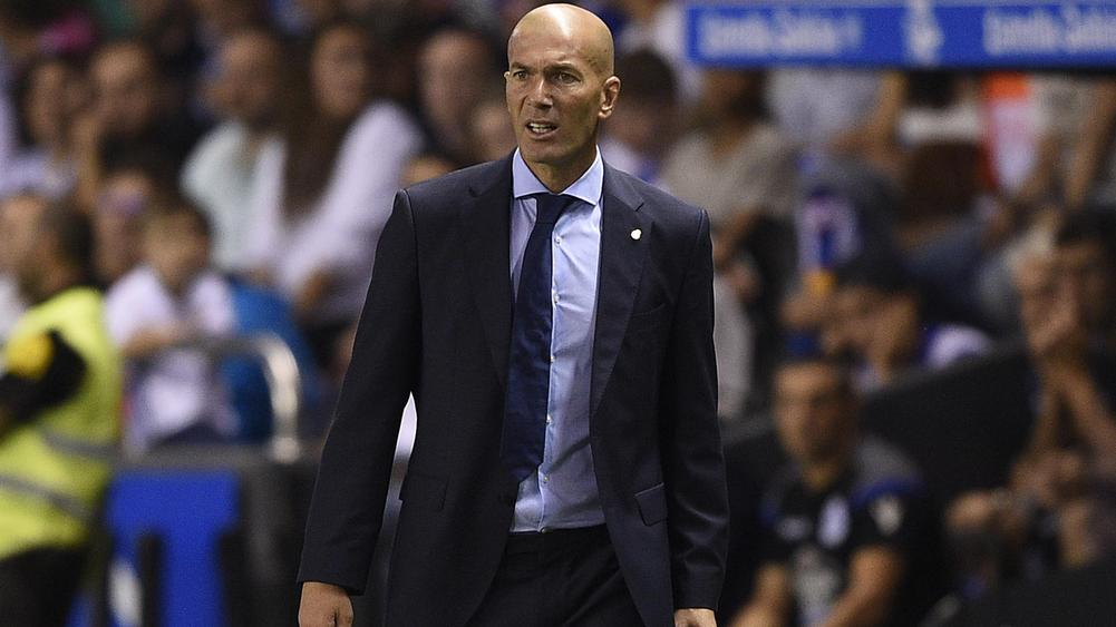 Zidane puts Real on a pedestal