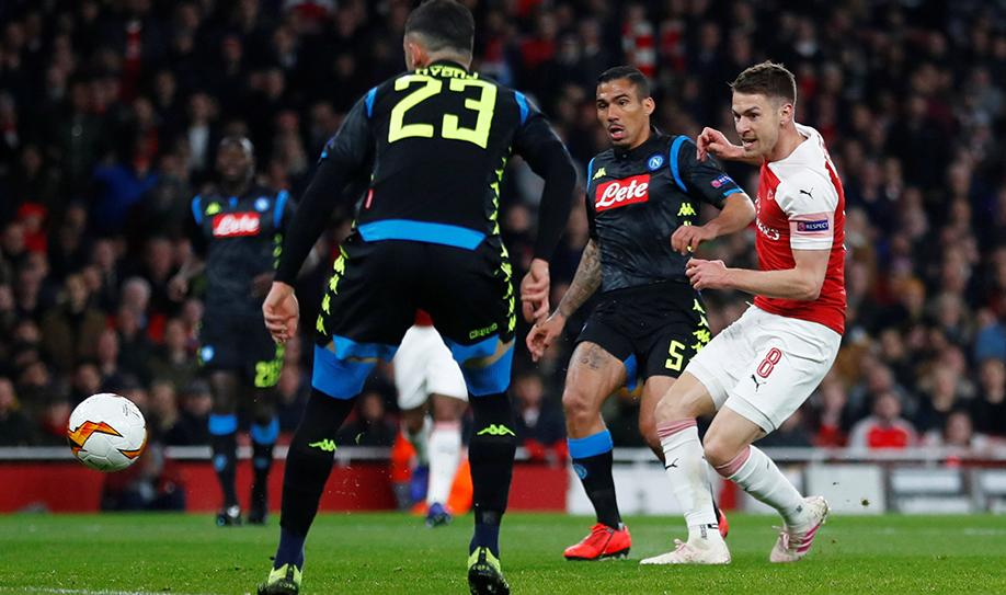 Arsenal 2-0 Napoli