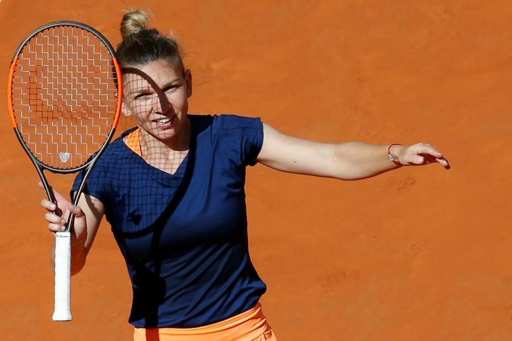 Madrid: Halep file en demies