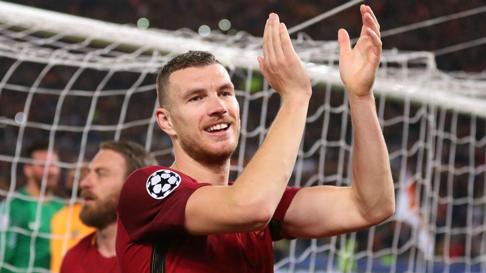 Edin Dzeko glad Chelsea move collapsed after famous Roma win