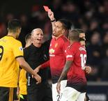 Wolves 2 Manchester United 1: Young dismissed as Solskjaer's side miss chance to go third