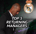 Return of the King - Top 5 returning managers