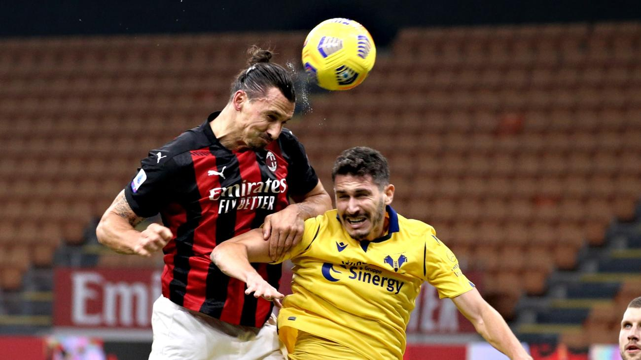 Milan 2-2 Hellas Verona: Ibrahimovic salvages late point after missing  penalty