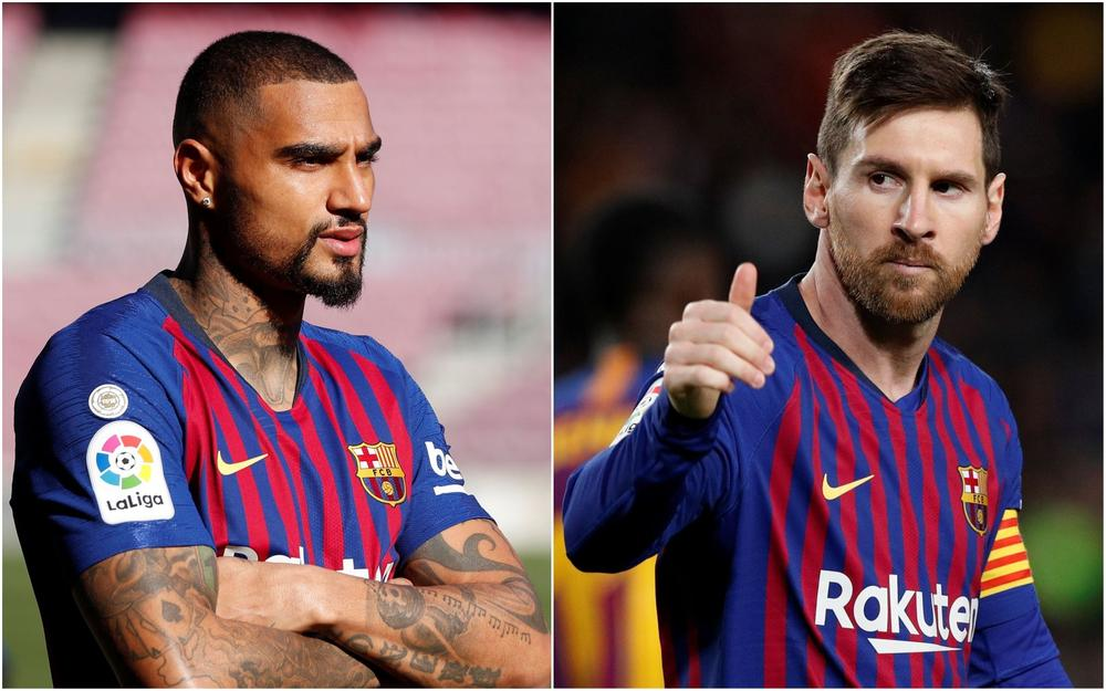 Kevin-Prince Boateng said Zlatan Ibrahimovic is the best player he has played with as the Barcelona midfielder overlooked superstar team-mate Lionel Messi. | beIN SPORTS USA