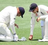 Bairstow hurt as Woakes shines for England