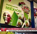 Jamie Easton And Tancredi Palmeri Visit The World Cup Museum Of Soccer