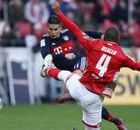 Ribery and James ensure Bayern marches on