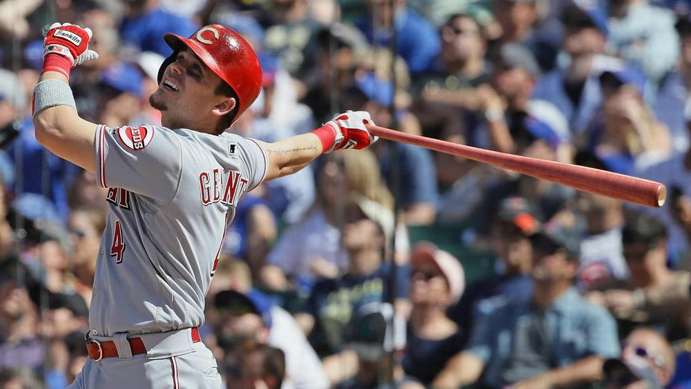 Old Friend Scooter Gennett hit four home runs in one game