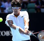 Chung continues dream Australian Open run