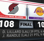 GAME RECAP:Trail Blazers 108, Lakers 103