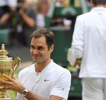Federer thrashes Cilic to win record eighth Wimbledon title