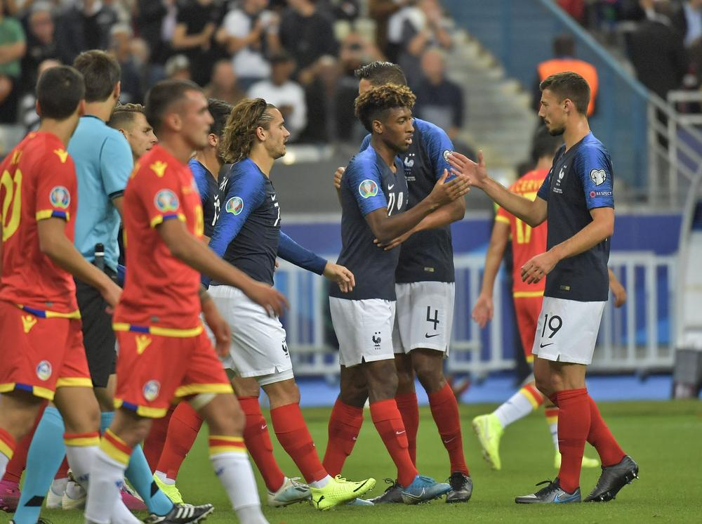 Kingsley Coman, Clement Lenglet and Wissam Ben Yedder scored for France in a win over Andorra | beIN SPORTS