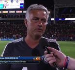 Mourinho happy with United hit-out
