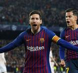 Messi Brace As Barcelona Advance Past Manchester United
